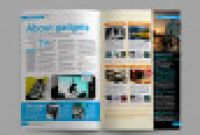 Blank Magazine Spread Template Awesome Magazine Magazine Templates From Graphicriver
