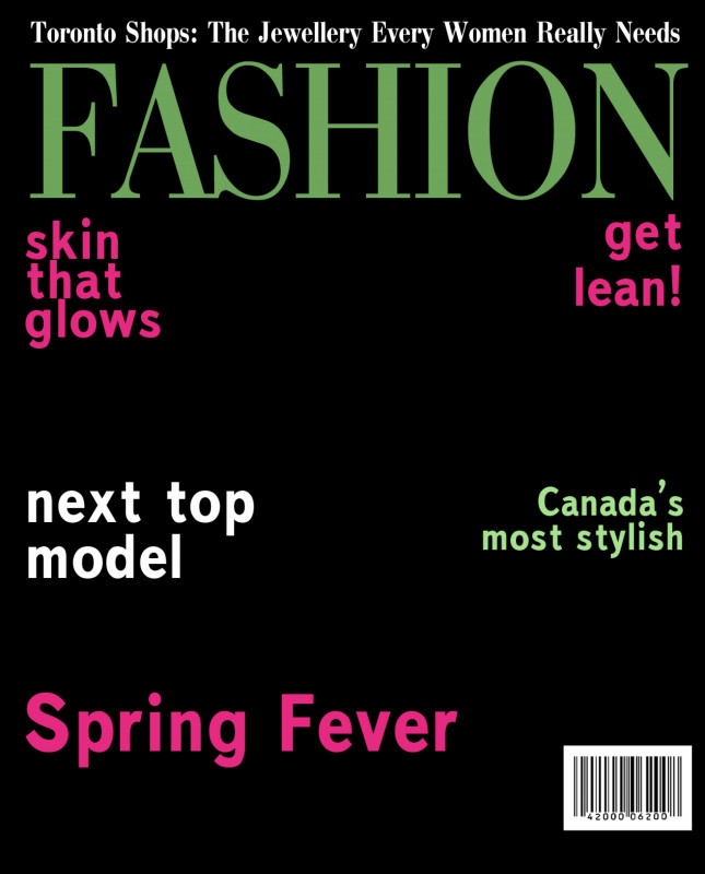 Blank Magazine Template Psd New 014 Magazine Fashion Full Cover Template Psd Free Download