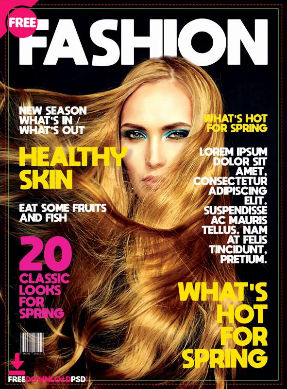 Blank Magazine Template Psd New Magazine Cover Template Psd Locksmithcovington Template