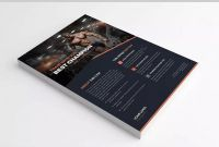 Blank Magazine Template Psd Unique Gym Flyer Template Psd A4 Catalog Flyer Design