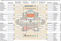Blank March Madness Bracket Template Awesome 2016 Ncaa tournament Bracket Print Download Updated March