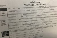 Blank Marriage Certificate Template Awesome Getting Married In Alabama Heres where You Can Download