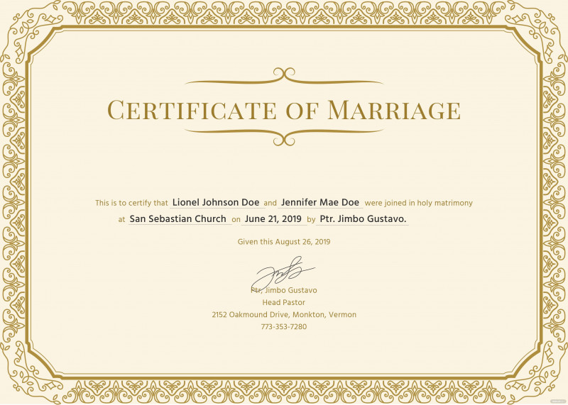 Blank Marriage Certificate Template New 28 islamic Marriage Certificate Template Robertbathurst