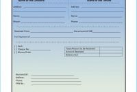 Blank Money order Template New Captivating Rent Invoice Template which Can Be Used as