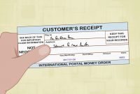 Blank Money order Template Unique Money order Receipt Template Best Of How to Fill Out A Money