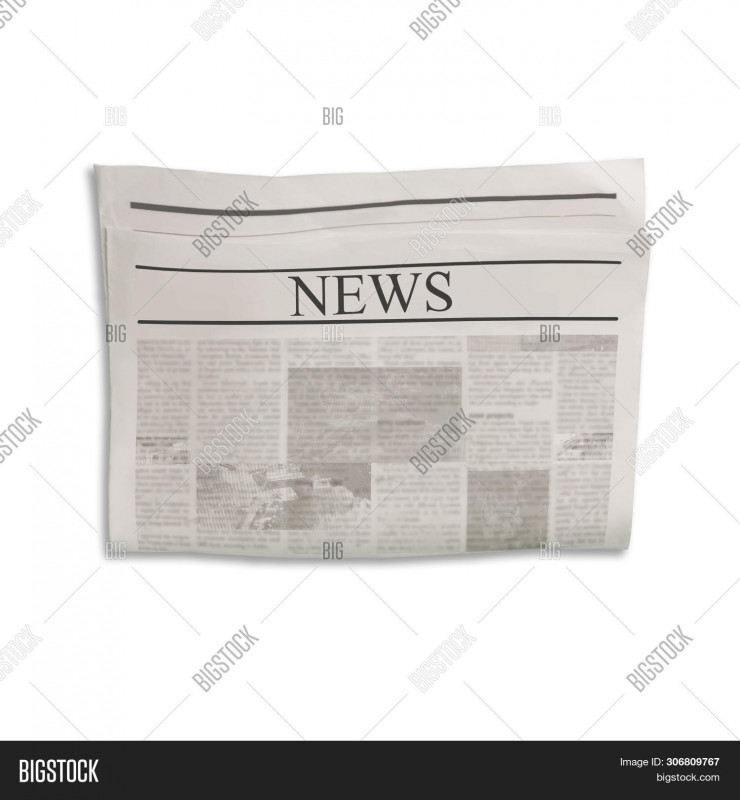 Blank Old Newspaper Template Unique Mockup News Newspaper Image Photo Free Trial Bigstock