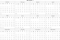 Blank One Month Calendar Template Awesome Free 2021 Printable Monthly Calendar with Holidays Word Pdf