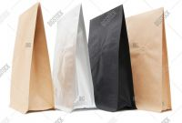Blank Packaging Templates Unique Black White Brown Image Photo Free Trial Bigstock