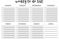 Blank Packing List Template Unique Free Printablehingso Do Listemplate Weeklyask Blank Shopping