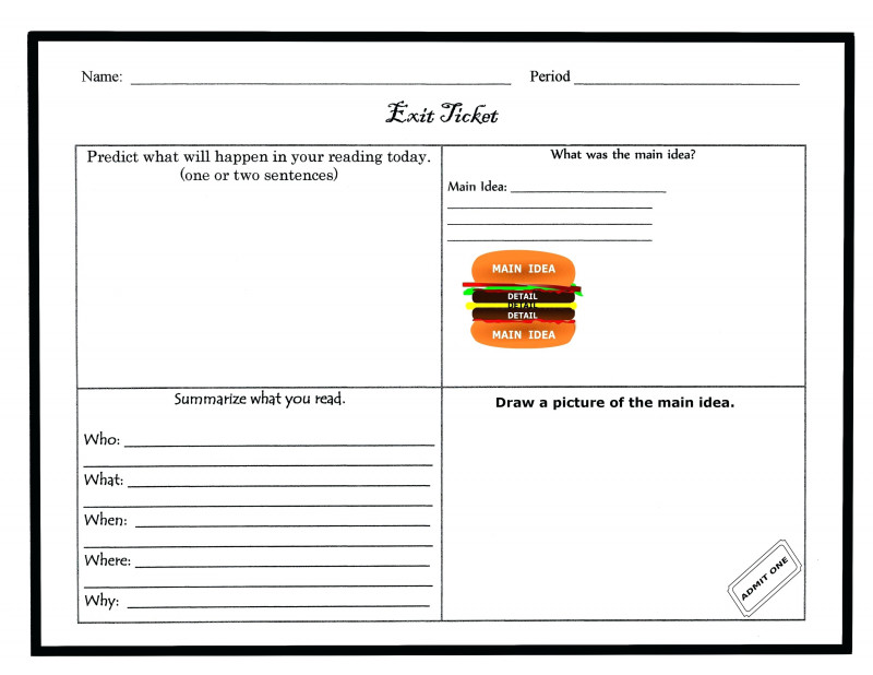 Blank Parking Ticket Template New Free Exit Ticket Template Nobelpaper Co