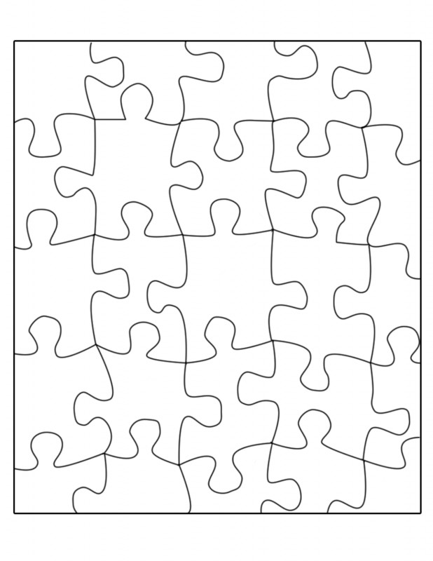 Blank Pattern Block Templates Awesome Free Puzzle Template Download Free Clip Art Free Clip Art