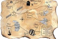 Blank Pirate Map Template New Treasure Map Template Free All Document Resume