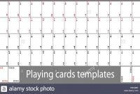 Blank Playing Card Template Unique Deck Of Cards Template Inspirational Box Card and Best