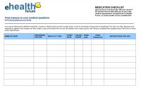 Blank Prescription form Template Awesome Dr Office Sign Sheet Template and Blank Medication