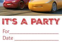 Blank Race Car Templates Unique Free Printable Cars Birthday Invitations Fun Money Mom