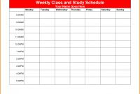 Blank Revision Timetable Template New Hsc Study Timetable Template Year 12 Half Yearly Exam