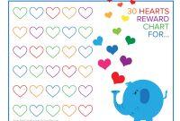 Blank Reward Chart Template New Reward Chart for Kids Template Jasonkellyphoto Co