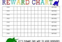 Blank Reward Chart Template Unique Simple Reward Chart Kozen Jasonkellyphoto Co