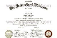 Blank Seal Template New Fake Diploma Certificate Template Sada Margarethaydon Com