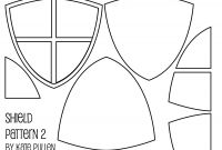 Blank Shield Template Printable Awesome Five Free Shield Templates for Cards and Scrapbook Pages