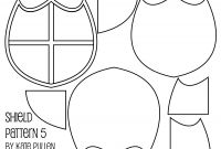 Blank Shield Template Printable New Five Free Shield Templates for Cards and Scrapbook Pages