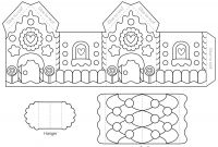 Blank Snowflake Template Unique Coloring Excelent Gingerbread House Coloring Book Free