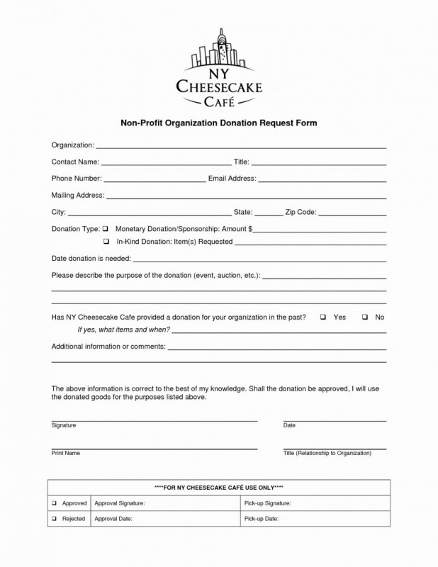 Blank Sponsor form Template Free New 009 Fundraising Request form Template Free Printable order