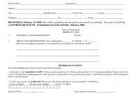 Blank Sponsorship form Template New Free Registration form Template Golf tournament