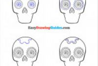 Blank Sugar Skull Template Unique Basic Examples How to Draw A Sugar Skull Girl Step by Step
