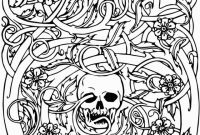 Blank Sugar Skull Template Unique Free Printable Skull Coloring Pages for Kids