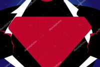 Blank Superman Logo Template Awesome Superman Chest Stock Vectors Royalty Free Superman Chest