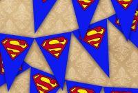 Blank Superman Logo Template Unique Superman Bunting Flag Party Superhero Bedroom Playroom Blue