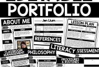 Blank Syllabus Template Awesome Teaching Portfolio Template