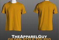 Blank T Shirt Design Template Psd New Gildan Style Tee Template Psd by theapparelguy Deviantart