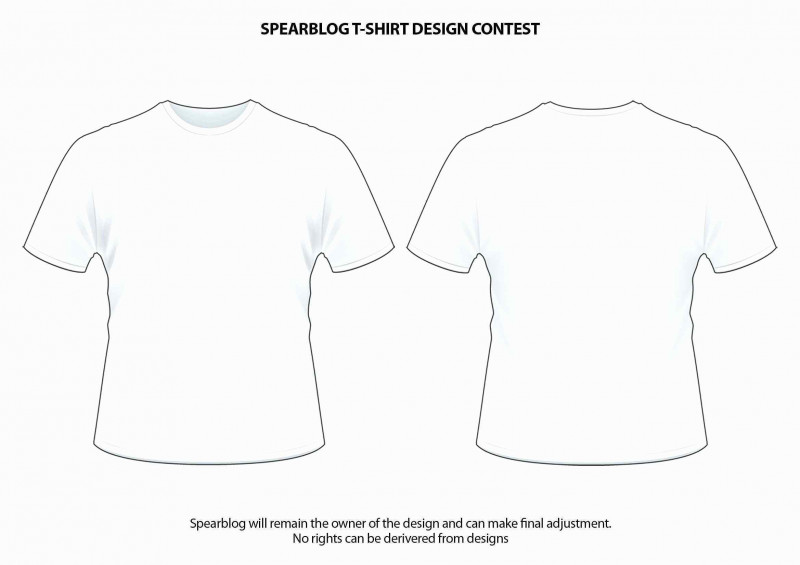 Blank T Shirt Outline Template New T Shirt Mockup Vector At Getdrawings Com Free For Personal