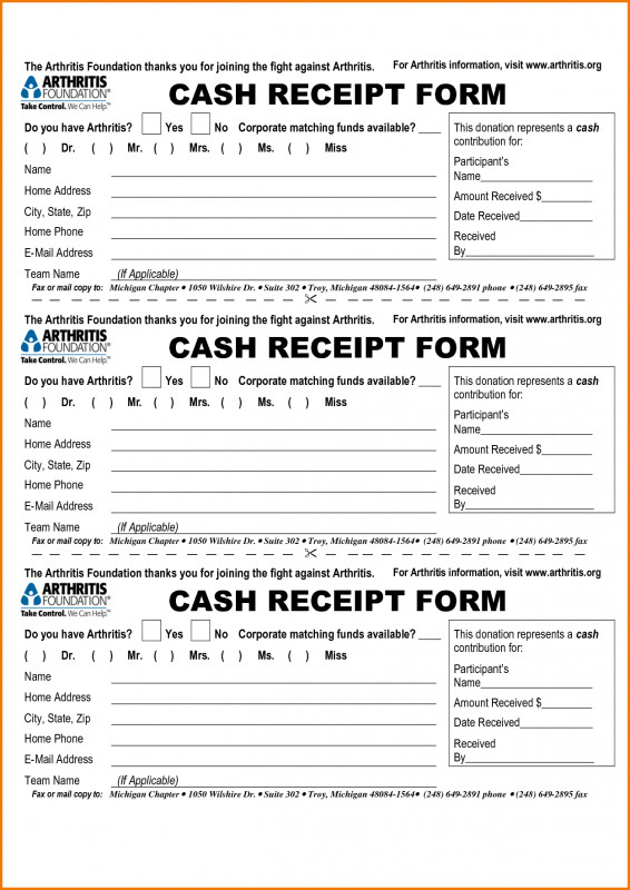 Blank Taxi Receipt Template New Receipt Form Free Template Google Search Forms Pdf Format