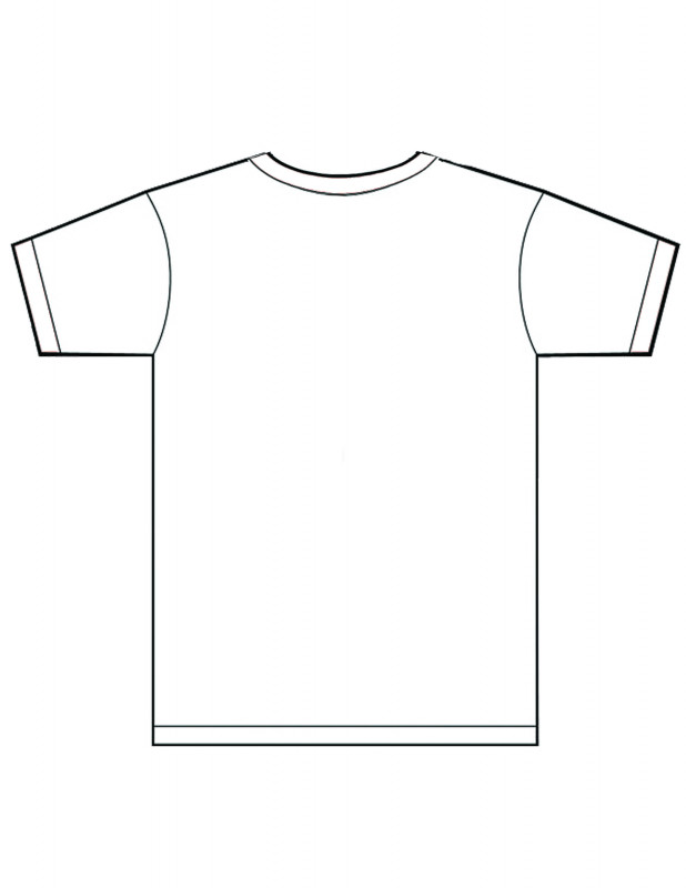 Blank Tee Shirt Template Awesome Blank T Shirts Template Photoshop Rldm