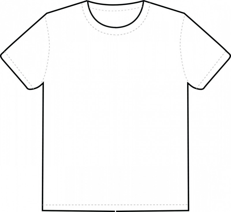 Blank Tee Shirt Template Awesome Blank Tee Template T Shirt White By Tshirt Vector Soidergi