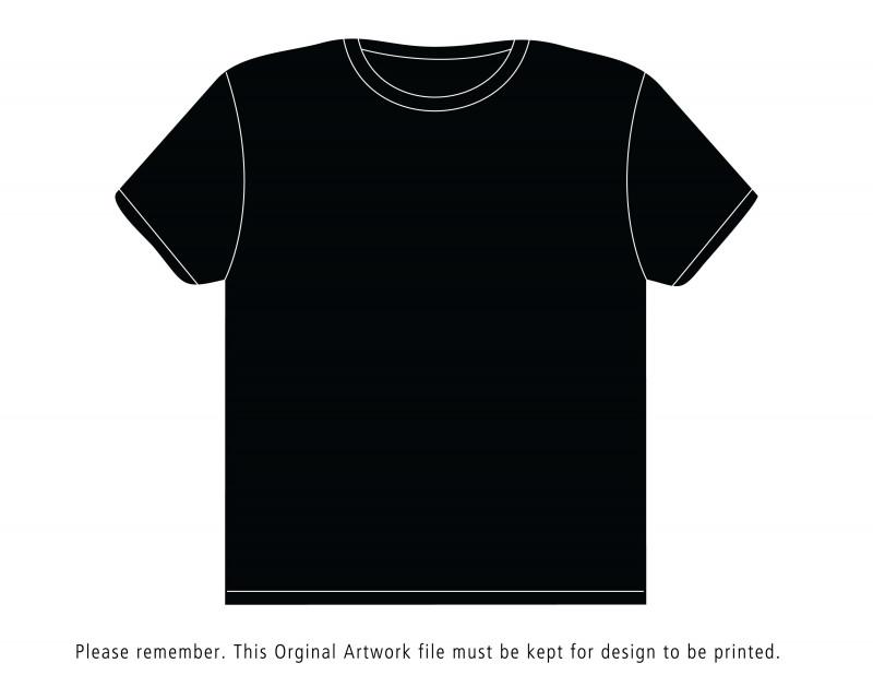 Blank Tee Shirt Template Unique Black T Shirt Template Bbt Com