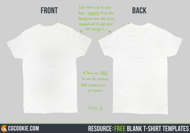 Blank Tee Shirt Template Unique Blank T Shirt Cg Cookie