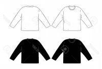 Blank Tee Shirt Template Unique Photostock Vector Hand Drawn Vector Illustration Of Blank