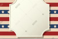 Blank Template Of the United States Awesome American Patriotic Vector Photo Free Trial Bigstock