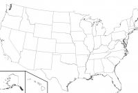 Blank Template Of the United States Awesome Strict United States Map without Names Template Of the