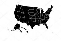 Blank Template Of the United States New Blank Similar Usa Map isolated On White Background United