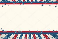 Blank Template Of the United States Unique Blank American Flag Template American Flag Patriotic