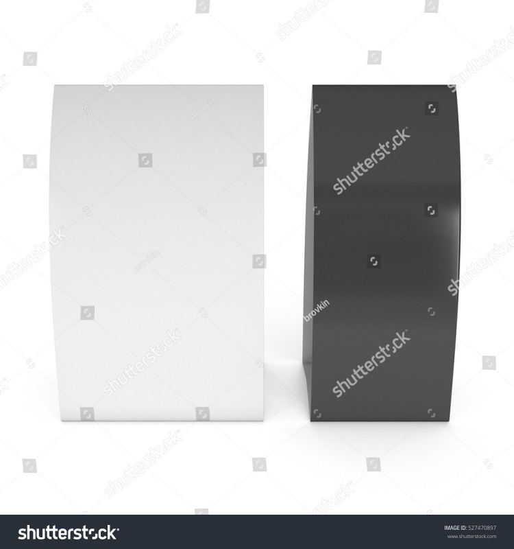 Blank Tent Card Template Unique Two Blank Paper Tent Cards 3 D Stock Illustration 527470897