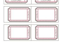 Blank Train Ticket Template Awesome Coupon Book Ideas for Husband Blank Love Coupon Templates