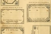 Blank Train Ticket Template Awesome Free Printable Vintage Pharmacy Apothecary Labels the