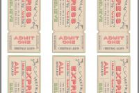 Blank Train Ticket Template New Free Ticket Printable Polar Express Christmas Party Polar