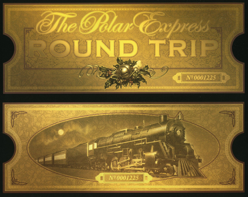 Blank Train Ticket Template New Polar Express Printable Ticket I Plan On Printing these